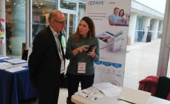 TAVIE platform exhibited at AFDET Congress in Paris