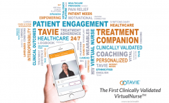 TAVIE – Virtual nurses provide patients real-world support to improve adherence and outcomes